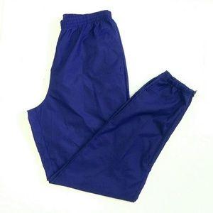 Vintage Nike Track Pants Joggers Mens XL Blue